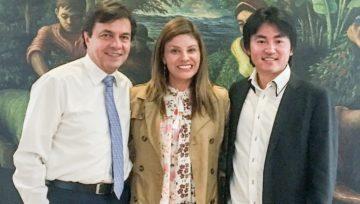 Reunión con el CEO de la Federación Nacional de Cafeteros
