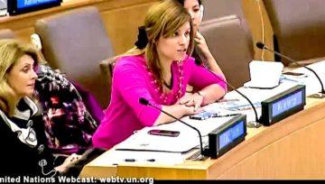 Panel para el programa KIF Women Colombia en Naciones Unidas NY